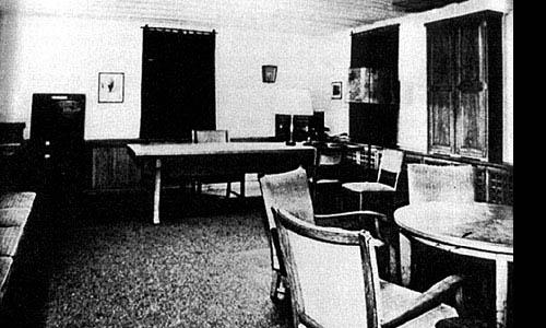 Pokój Hitlera w Wilczym Szańcu