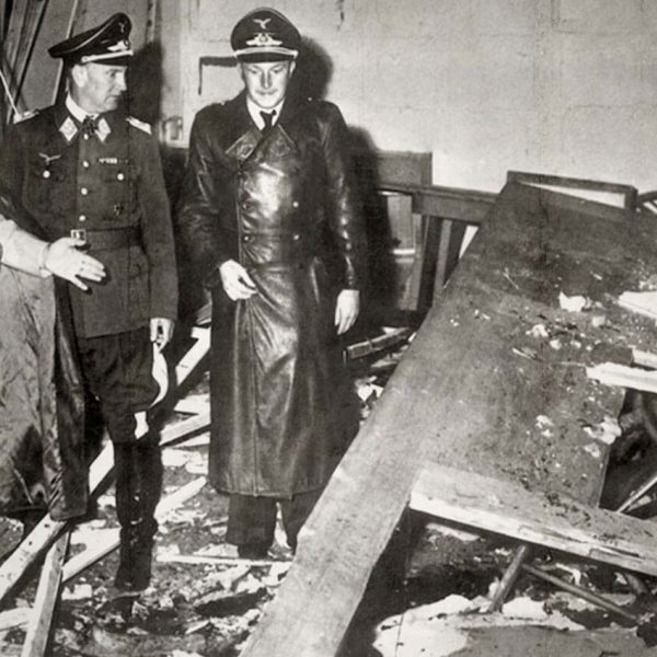 Sala narad po eksplozji bomby Stauffenberga