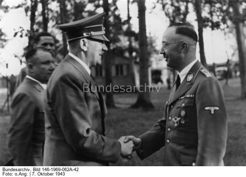 [Adolf Hitler] gratuliert Heinrich Himmler zu dessen 43 Geburtstag1
