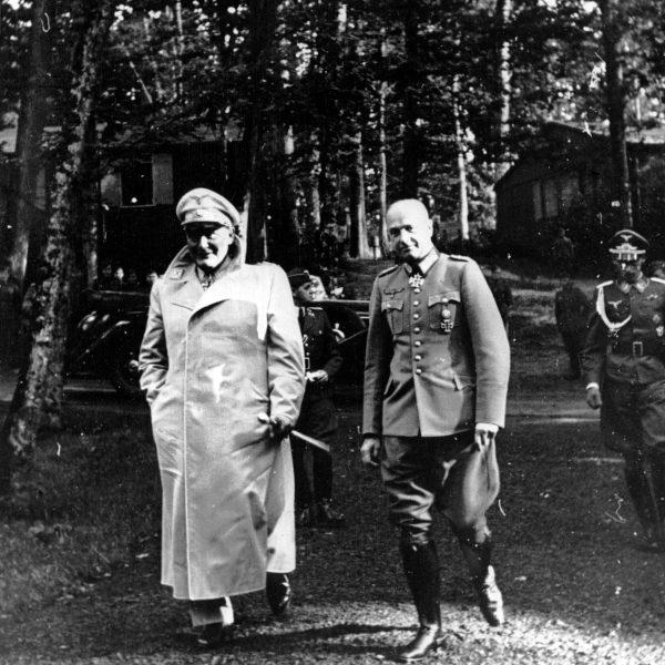 Gierłoż. Hermann Goering, Walther von Brauchitsch 1941