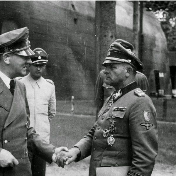 Adolf-Hitler-Hermann-Fegelein-Sepp-Dietrich-Hein-Springer