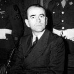 Albert Speer podczas procesu w Norymberdze