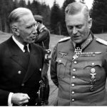 Franz von Papen i WIlhelm Keitel - czerwiec 1941