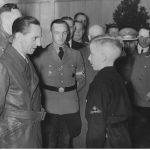 Goebbels na posiedzeniu niemieckiej volkslisty w Toruniu 1942