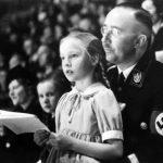 Heinrich Himmler i Gudrun - jego córka