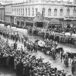 Berlin, Unter den Linden, Trauerzug für Fritz Todt