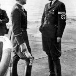 Marszałek Rzeszy Albert Speer z generałem Adolfem Gallandem 1943
