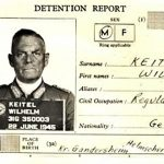 Wilhelm Keitel's detention report from June 1945