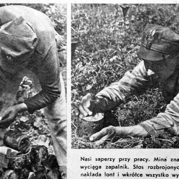Żołnierz Polski - numer 12 (37) - 1946r - Rozminowywanie Kwatery