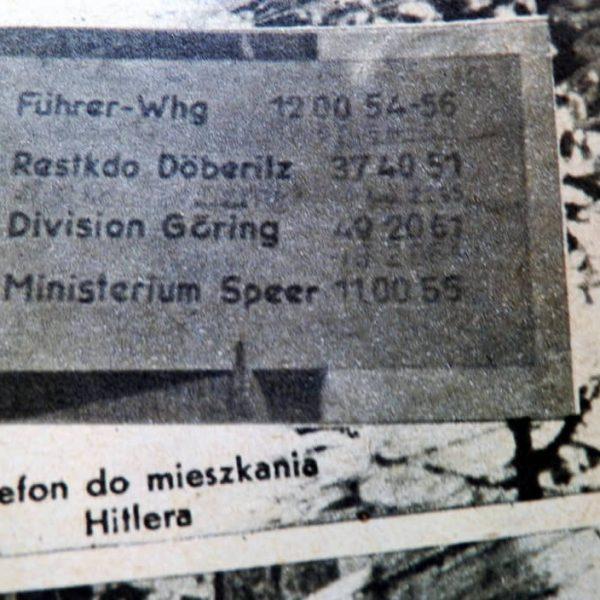 Żołnierz Polski - numer 12 (37) - 1946r - Numery telefonów w Kwaterze