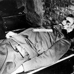 Zwłoki WIlhelma Keitla po egzekucji
