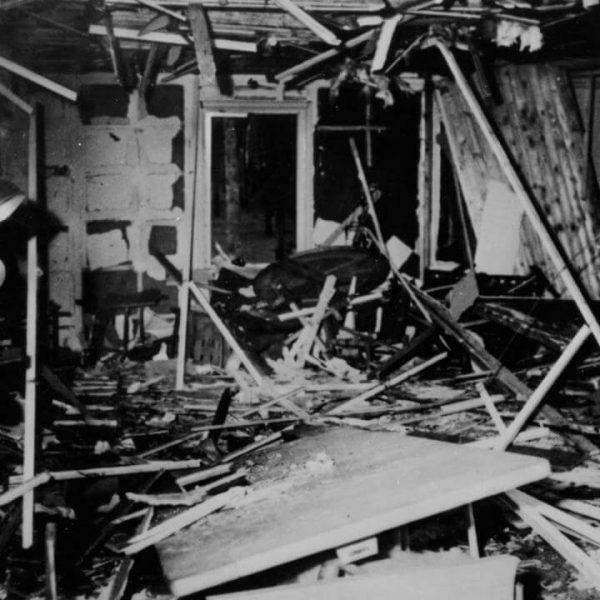 Barak po zamachu Stauffenberga