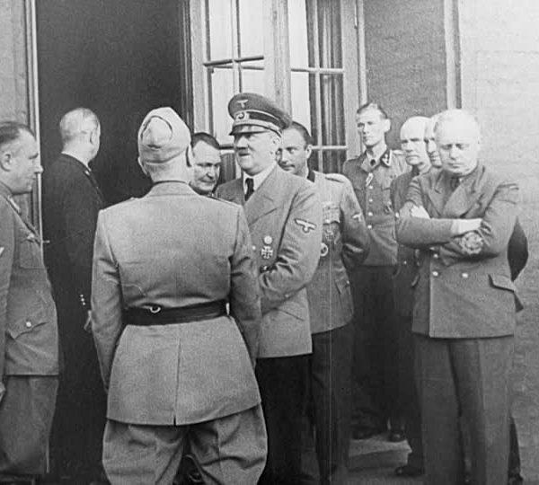 Hitler i Mussolini - Wolfsschanze