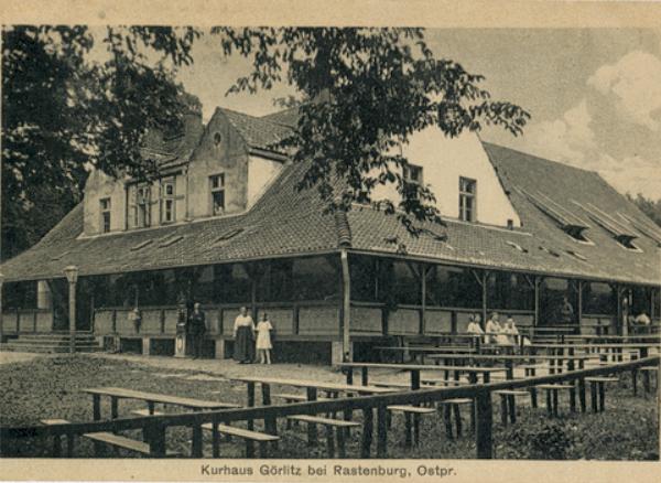 Kurhaus - dom wypoczynkowy w Gierłoży