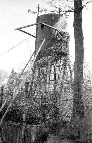 Staowa wieża - Stanowisko karabinu - Wolfsschanze