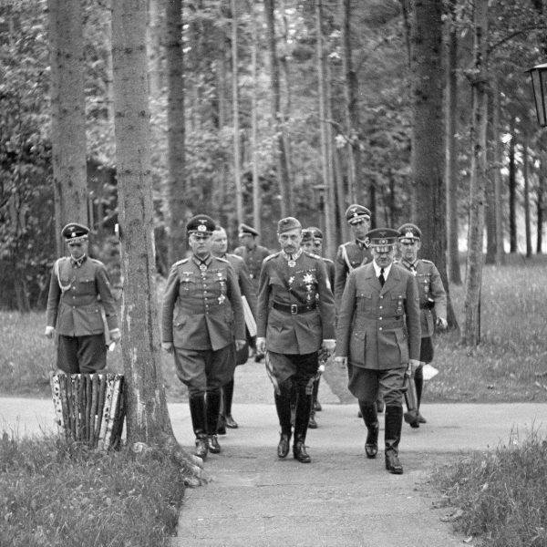 Niemcy w Wilczym Szancu