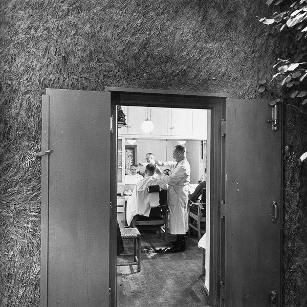 Zakład fryzjerski w Kwaterze